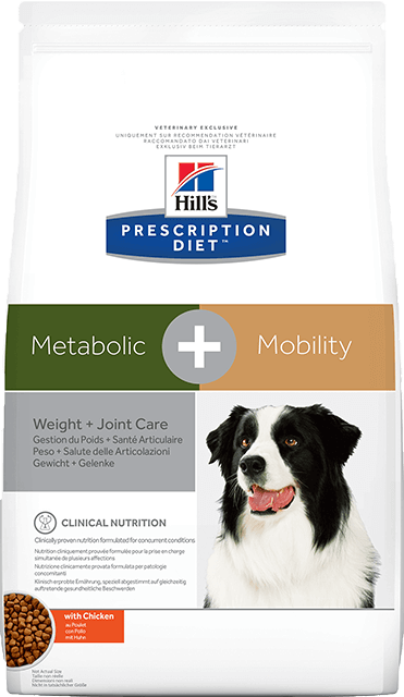 Hill's Prescription Diet Metabolic + Mobility Dry	 preview image